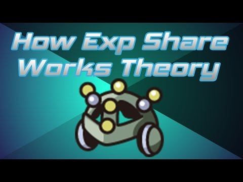 Pokemon Theory - How Experience Share Works