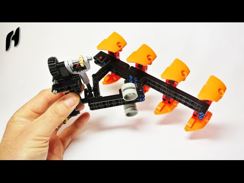 How to Build the Lego Technic Reversible Plow (MOC)