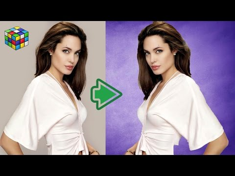 Background Change in photoshop CS6 Easily Hindi (Photoshop Toturials)