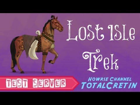 Lost Isle Trek - Howrse Test Server