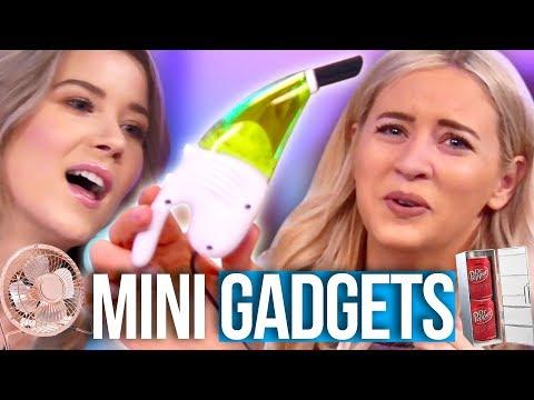 Testing the World's Tiniest USB Gadgets!! (Beauty Break)