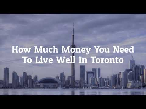 How Much Money You Need To Live In Toronto
