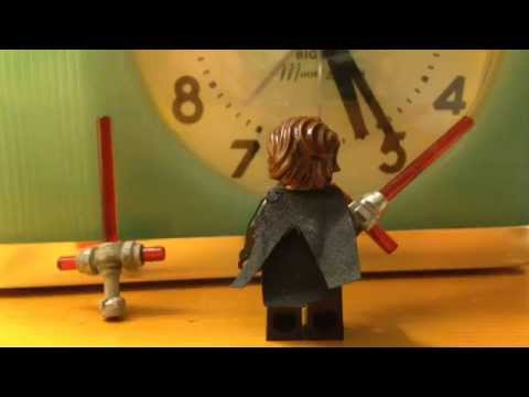 How to make a Lego custom  Kylo Ren lightsaber