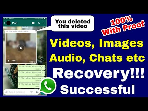 How To Read Deleted WhatsApp Messages   How To Read Deleted WhatsApp Photos And Videos