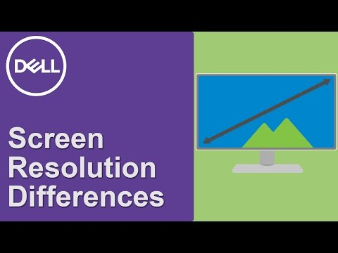 Screen Resolution Explained (Official Dell Tech Support)