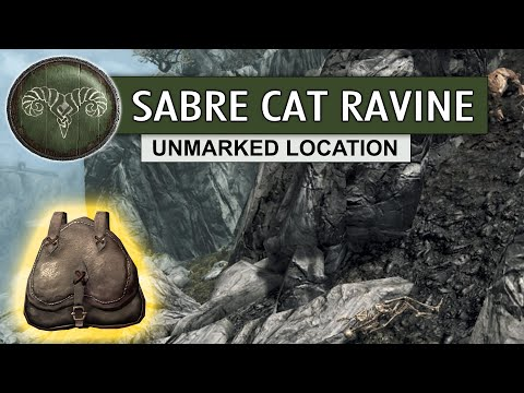 TES V - Secondary Locations - 5.K - Sabre Cat Ravine ✔️