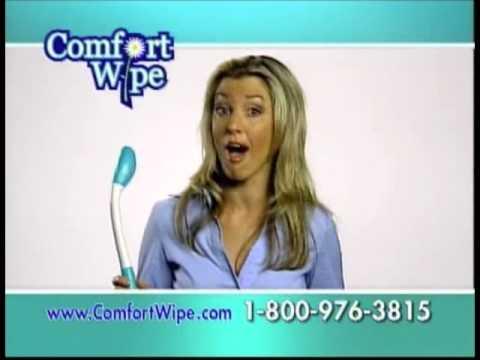 Comfort Wipe Commercial