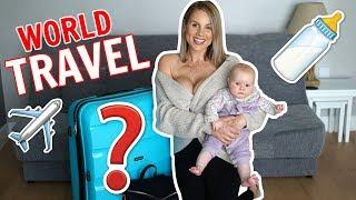 WHAT'S INSIDE MY SUITCASE: Mum & Baby World Travel