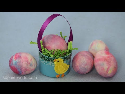 How to Create Marbled Easter Eggs | Sophie's World