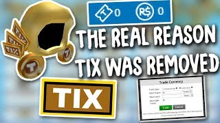 ROBLOX (Original) R I P Tix {BETA} and I Can't See The