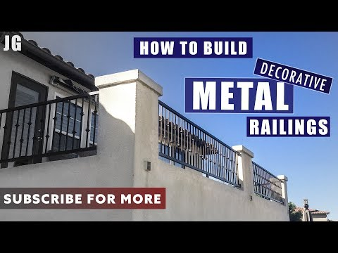 Decorative Metal Balcony Railings | JIMBO'S GARAGE
