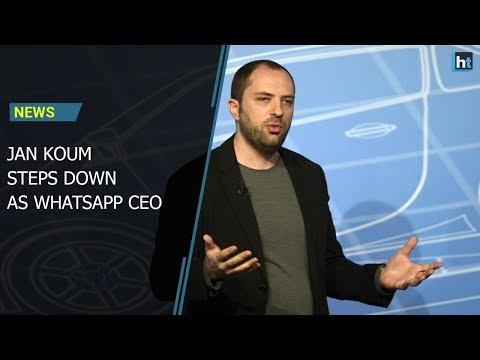 Jon Koum steps down as WhatsApp CEO amid Facebook privacy scandal