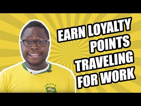 Earn Loyalty Points Traveling for Work