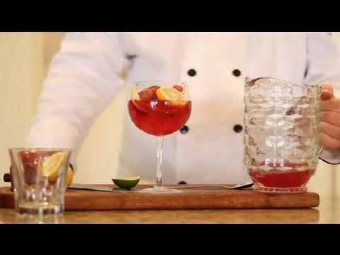 How to Make a Virgin Sangria : Virgin & Non-Alcoholic Drink Recipes