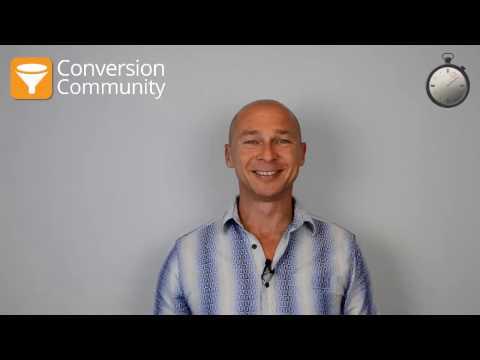 Conversion Conference 2017 Agenda | Conversion Rate Optimization Minute | Episode 110