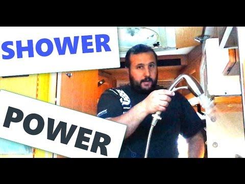 RV Shower Head Replacement - RV Life - Roadtrek