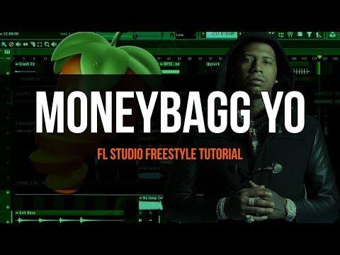 Making A Moneybagg Yo Type Beat - FL Studio Freestyle Tutorial