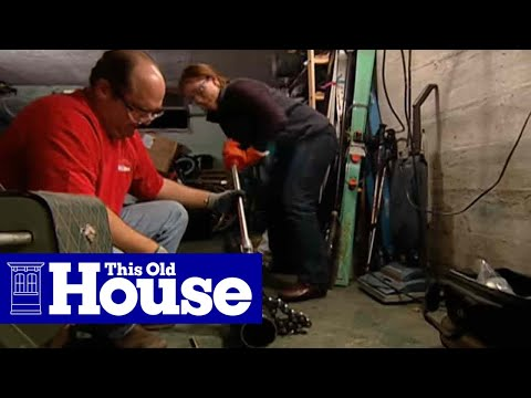 How to Replace a Whole-House Plumbing Trap - This Old House