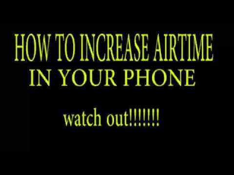 get free airtime on your phone