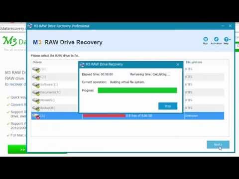 File system is RAW, chkdsk not available for RAW drives/USB/external HDD/SD card