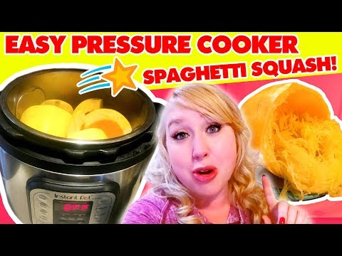 How To Cook Spaghetti Squash in the Instant Pot | Electric Pressure Cooker Recipes