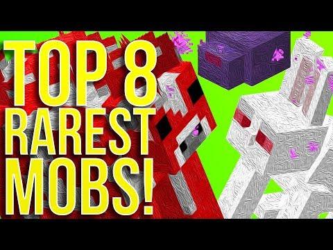 Top 8 Rarest Mobs in Minecraft