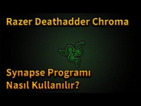 Razer Deathadder Chroma Synapse Programı Nasıl Kullanılır?