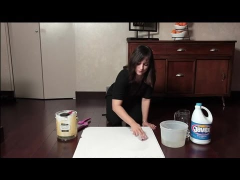 How to Clean & Restore Ceiling Tiles : Home Cleaning