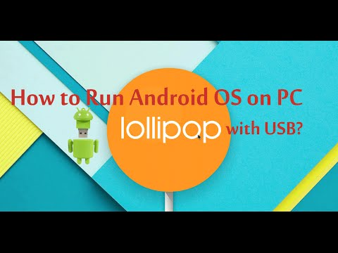 How to Install/Run Android OS on PC with USB/Pen Drive?