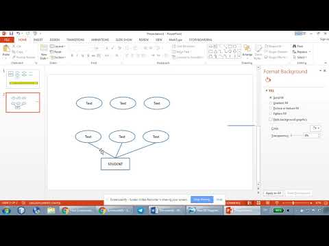 How to draw ER Diagrams using Microsoft PowerPoint - Part 1