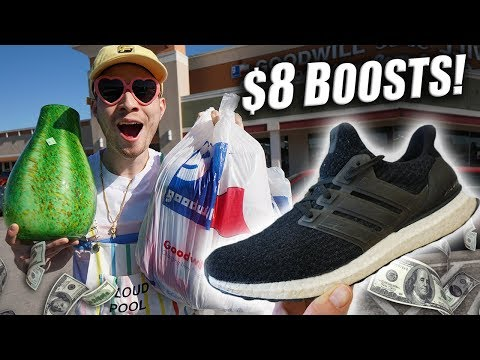 Trip to the Thrift #224 | $8 ADIDAS ULTRA BOOSTS!