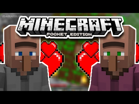 [1.0.4, 1.1+] How To Breed Villagers in Minecraft PE [Pocket Edition]