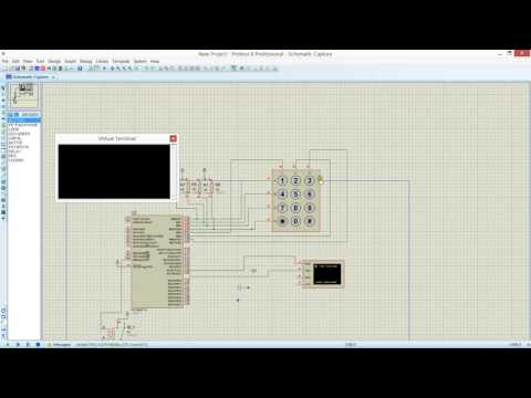 password based circuit breaker simulation using pic16f877a in proteus