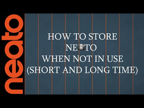 How To Store Your Neato When Not Using It