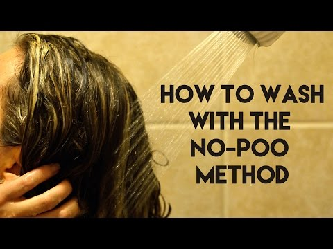 How To Wash with the No-Poo Method