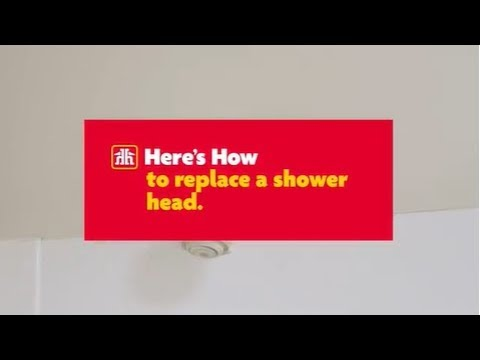 Here's How to Replace a Showerhead