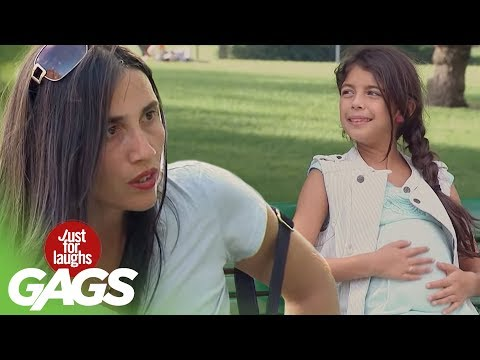 Pregnant Little Girl - Just For Laughs Gags