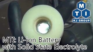 MTI: Li-ion Battery with Solid State Electrolyte