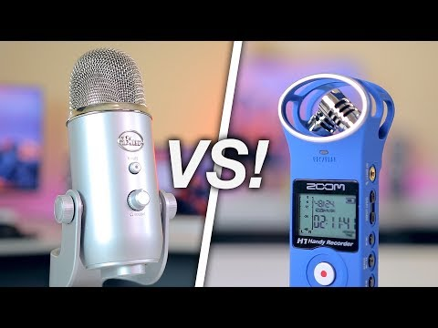 Blue Yeti vs Zoom H1: Which one should you buy?