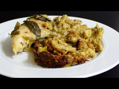 Crock Pot Chicken and Dressing / Stuffing with Michael's Home Cooking