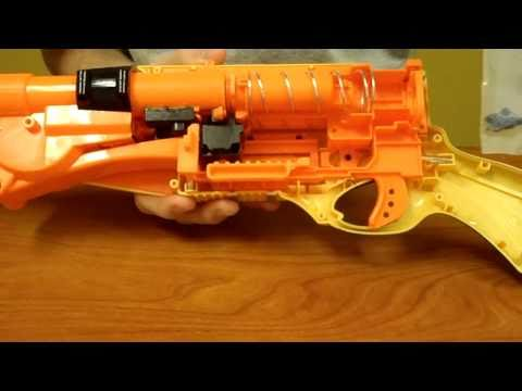 How to: The ULTIMATE Nerf Barrel Break IX-2 Mod Tutorial (Air Restrictor, Epoxy, and E-Tape))