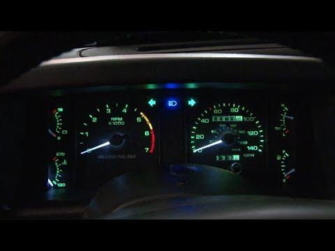 Mustang Scott Drake LED Gauge Light Kit 1979-1993 Installation