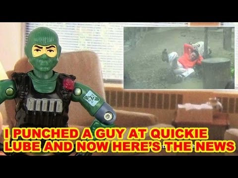 Angry Army Ranger Makes Fun Of Dumb News Stories - Action Figure Therapy