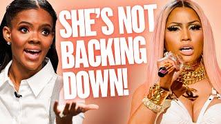 Candace Owens Reacts to Nicki Minaj's Vaccine Hesitancy
