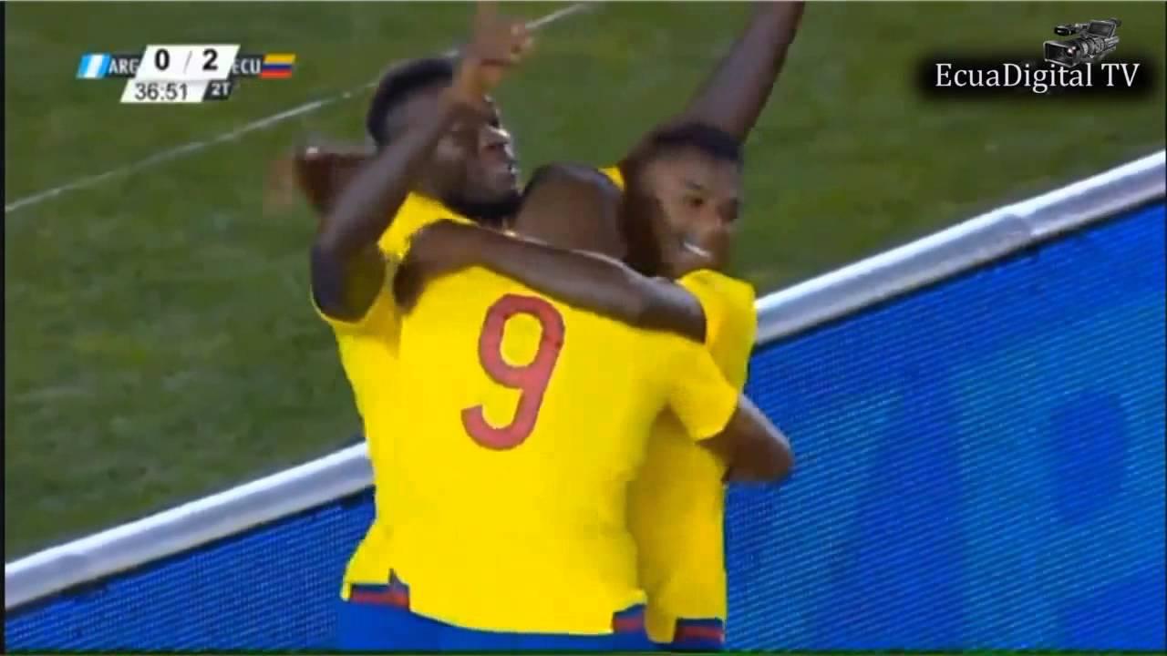 "Argentina 0 Ecuador 2 (narración ecuatoriana) ""Eliminatorias Sudamericanas 2015"" (1° fecha)"