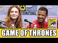 Game Of Thrones Cast Reveal Who They Wish Hadnt Been Killed Season 7 Comic Con Panel