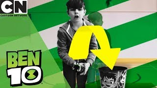 Ben 10 | Omni-Launch Battle Figures Trick Shots | Cartoon Network | Ad Feature