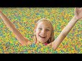 Amelia Avelina And Akim Celebration With 1 Million Orbeez