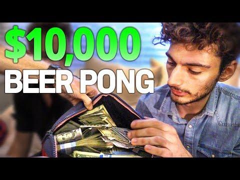 YOUTUBER BEER PONG - $10,000 CHALLENGE (ft. Keemstar, Joogsquad, Nelk, and more)
