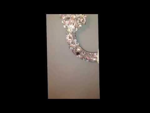 Personalised wedding horseshoe :)